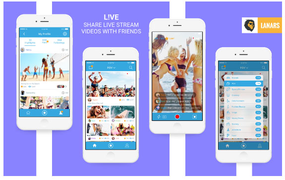 L!ve - Video Streaming Mobile App